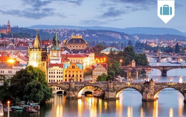 Hotel 3* y 4* en Praga 4 días