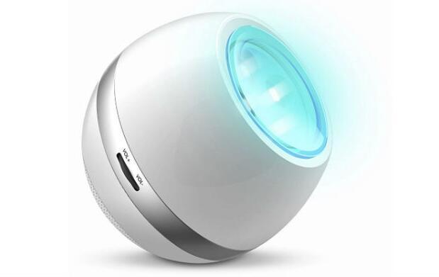 Altavoz con FM y luz