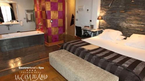 Escapada a Palencia: AD, spa, masaje, visita a bodega