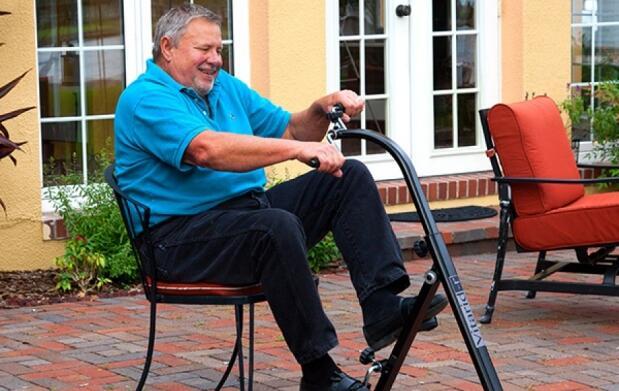 Pedaleador dual para brazos y piernas