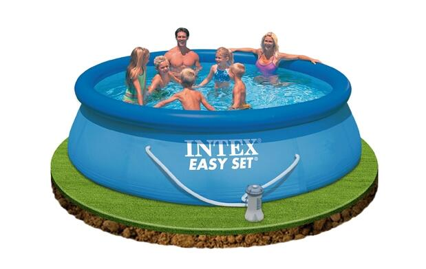 Piscina Easy Set con Depuradora