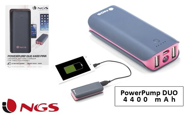 Power Bank DUO 4400 mAh NGS