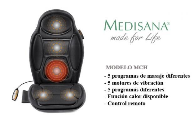 Respaldo de masaje con vibración