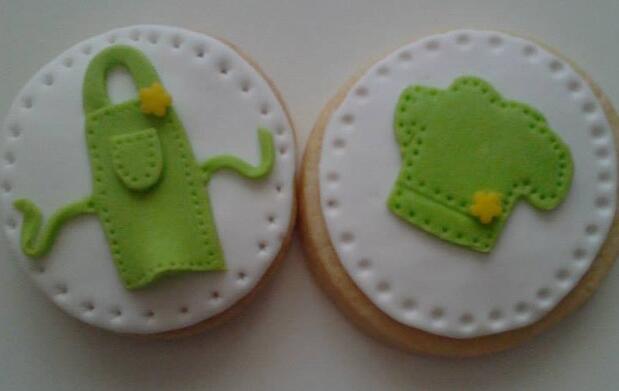 Taller de galletas para el día del padre