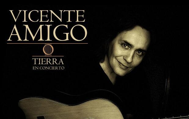 Disfruta del virtuosismo de Vicente Amigo