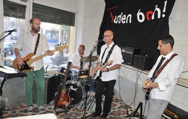 Rock de calidad con Baden Bah! en el CAEM