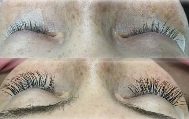 Extensión de pestañas pelo a pelo