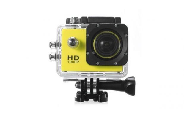 Cámara video deportiva waterproof Full HD