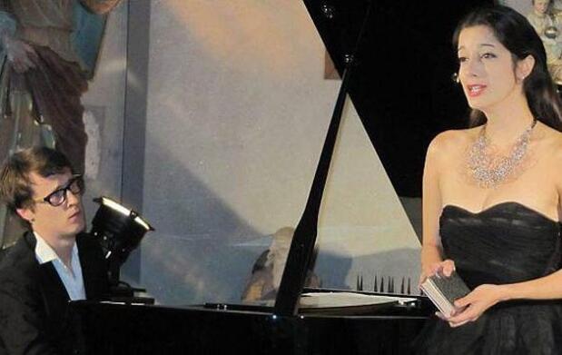 Raquel Camarinha y Héreau en concierto