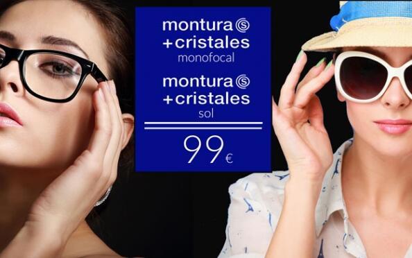 Gafas con cristales monofocales + gafas de sol
