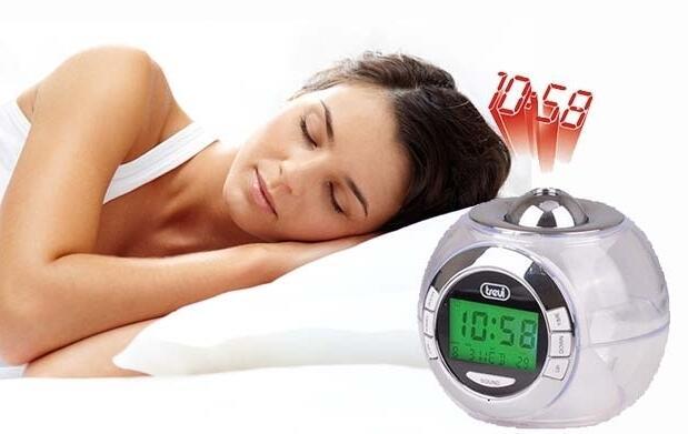 Despertador con hora proyectable Trevi