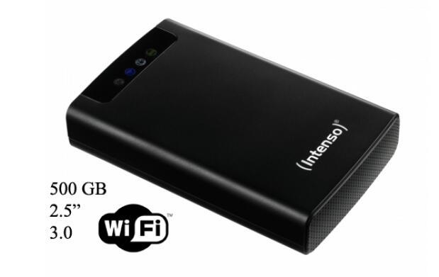 "Disco duro 2,5""-500 Gb-USB 3.0 Wifi"