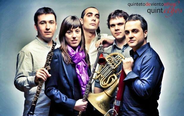 Quinteto de viento Ethos en concierto
