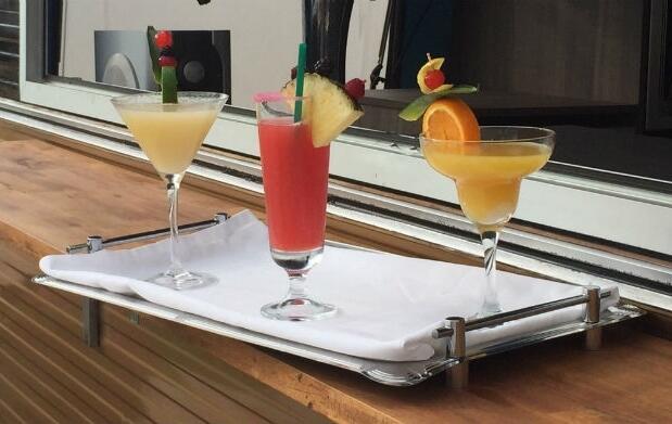 Cena+cocktail en los jardines de Isolda