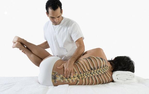 Sesión de fisioterapia avanzada