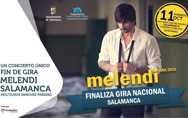 Entradas para el concierto de Melendi