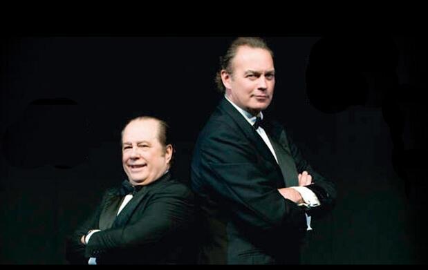 Bertín Osborne y Arévalo son... Mellizos