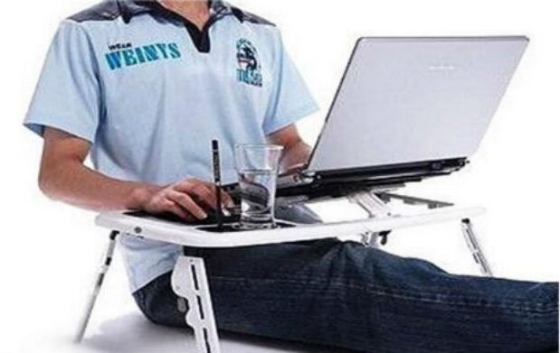 Mesa plegable para el ordenador