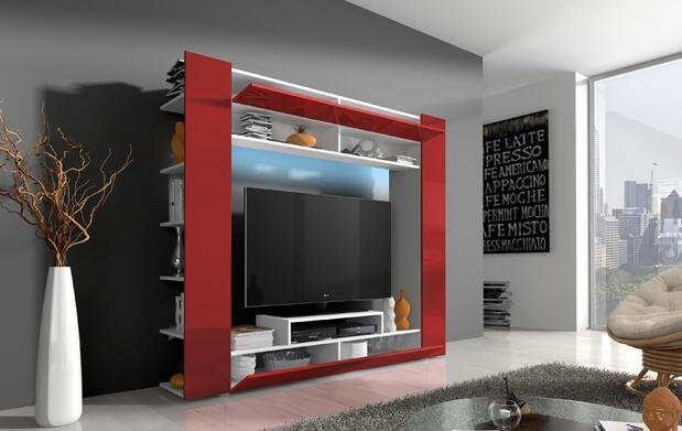 """Mueble de salón con LED """"Epsilon"""" en 4 colores a elegir"""
