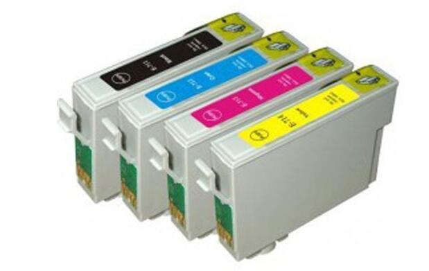4 cartuchos de tinta para impresora