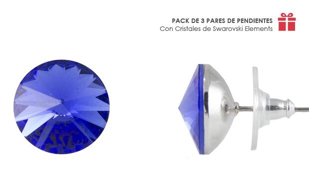 Pack Pendientes made with Swarovski Elements