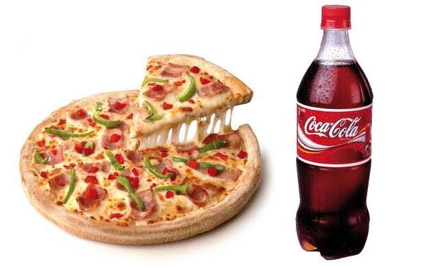 Pizza familiar 3 ingredientes+bebida 1L