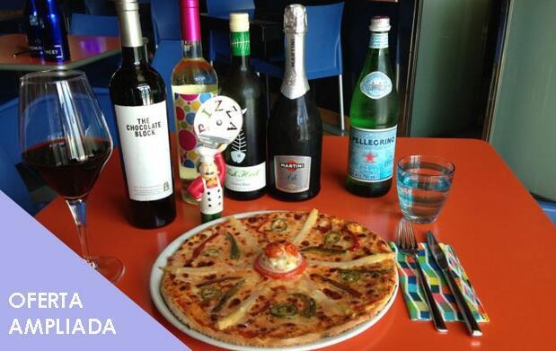 Delicioso menú italiano para dos personas