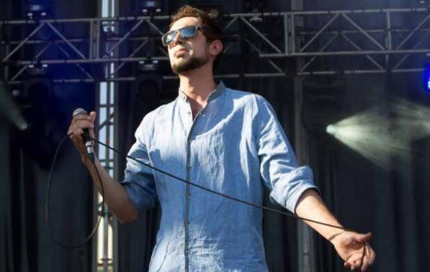 Rodrigo Mercado, en concierto