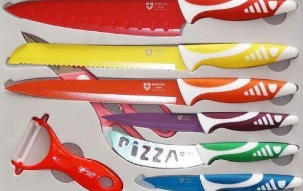 Set de cuchillos suizos