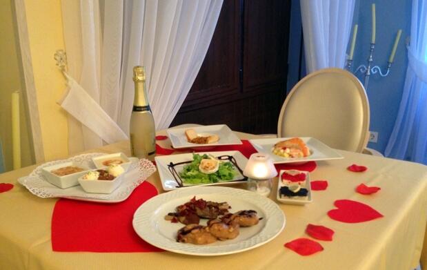 Tarde romántica con cena y spa para 2