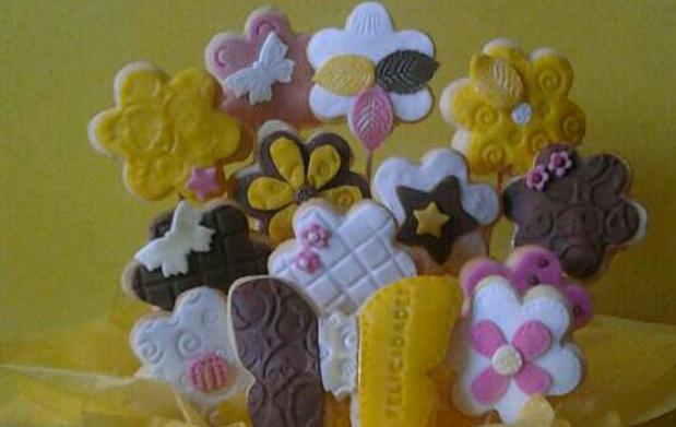 Taller de galletas para felicitar a mamá