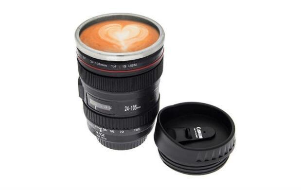 Taza cámara de café