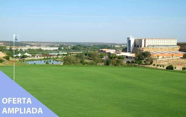 Green fee en Villa Mayor por 11 € o 2 por 19€