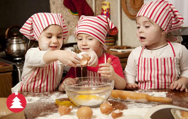 Talleres infantiles de cocina y  teatro