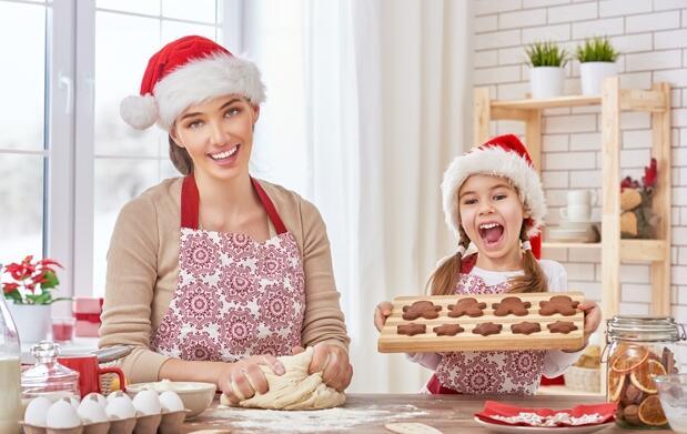 Talleres infantiles de cocina de Navidad